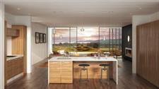 Villa kitchen design The Lodge at Kinloch