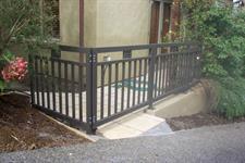 balustrade #`130 Iron Design