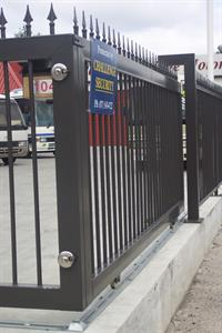 Fencing -commercial fencing Iron Design
