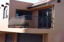 bowed balustrade #102-2 Iron Design