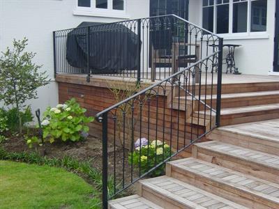 balustrade # 112 Iron Design