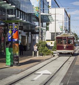 Cashel Street ANZ Centre Tram 2