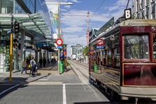 Cashel Street ANZ Centre Tram