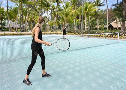 Tennis Court - Le Bora Bora by Pearl Resorts Le Bora Bora by Pearl Resorts