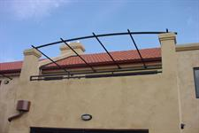 pergola roof detail