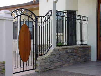 pedestrian gate 229
