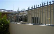 Fencing panels to raise level Iron Design