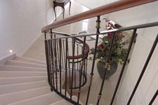 Balustrade style 003 showing return