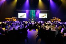 Dinner setting in arena
