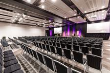 Double Heaphy Rooms conference set-up
