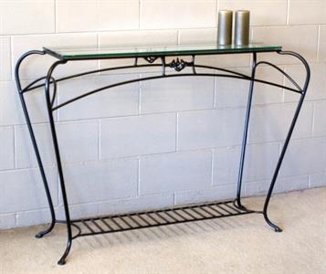Hall Table # 7 Alexandria Iron Design