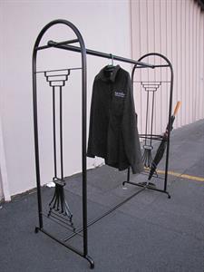 custom coat rack/umbrella stand Iron Design