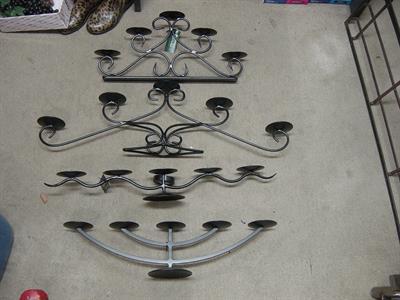 candelabras 4 styles 004 Iron Design
