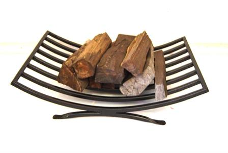 Log stacker: basket