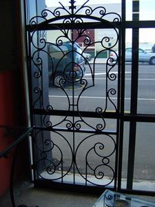 Security door # 611