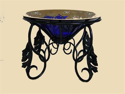 custom bowl stand Iron Design