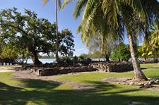 a - Royal Huahine - ancient marae on the grounds