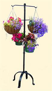 hanging basket stand
