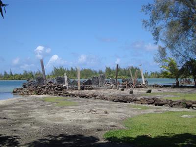 a - Royal Huahine - ancient marae Royal Huahine