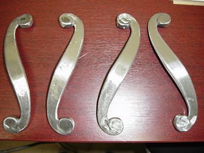 Handles: custom cabinet handles Iron Design