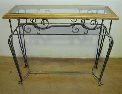 Hall table #6 San Diego Iron Design