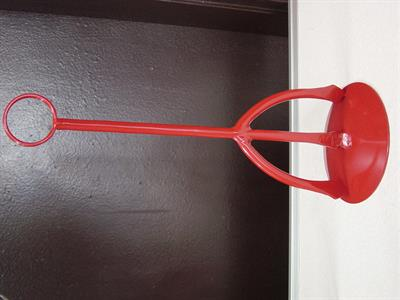custom table number holder Iron Design