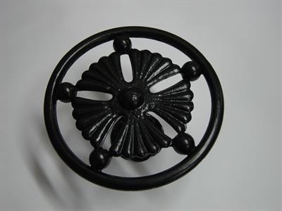 custom tie back Iron Design