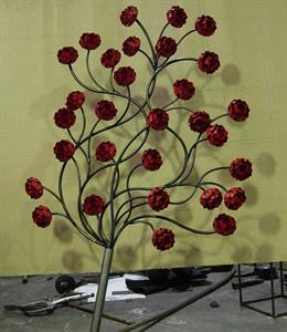 Massive rose finial Iron Design