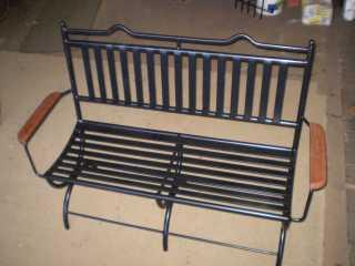 Seating: Tuscany 2 seater bench with back and arms