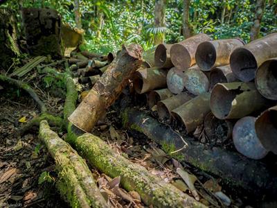 Artillery Shells PNG Trekking Adventures - Kokoda