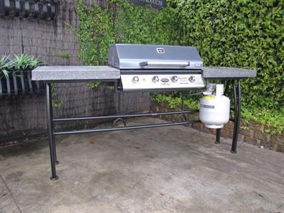 Barbeque in table sold, orders taken