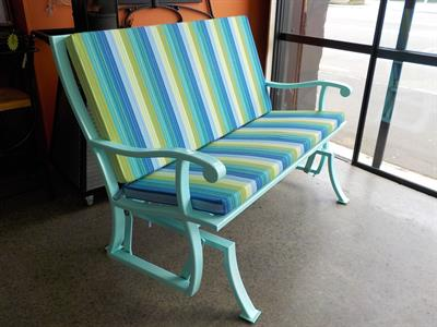 Seating: Outdoor Glider seat from$3000