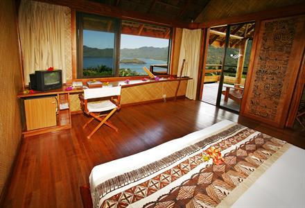 2b - Hanakee Hiva Oa Pearl Lodge - Ocean View Bung Hanakee Hiva Oa Pearl Lodge