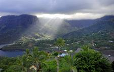 a - Hanakee Hiva Oa Pearl Lodge - mountain scenery
