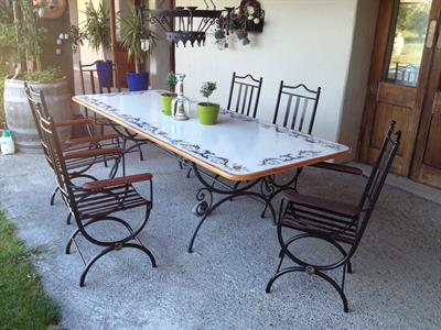 Seating: Tuscany carvers $550