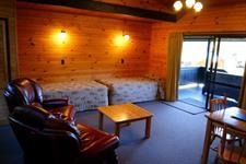 Wilderness Suite Lounge Bedroom Lakes Lodge Wilderness Retreat