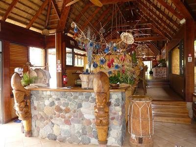 a - Keikahanui Nuka Hiva Pearl Lodge - reception Keikahanui Nuka Hiva Pearl Lodge