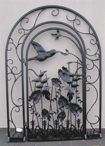 custom design hummingbird gate