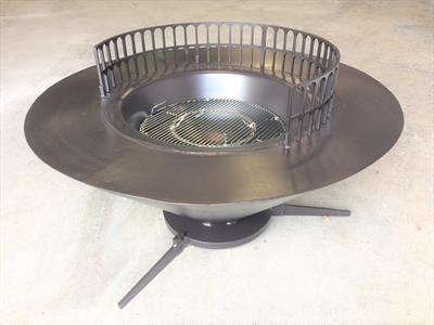 Outdoor firepit 2 $3500 Iron Design