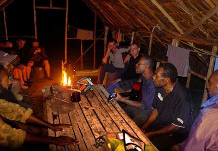 Dinner Time PNG Trekking Adventures - Kokoda