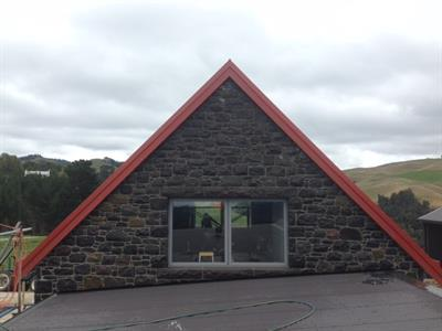 Katikati stone gable
