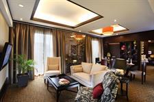 Presidential Suite Living Room Swiss-Belhotel Danum Palangkaraya