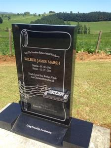 Harmonica design memorial