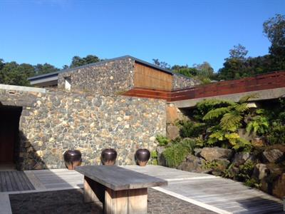 Matatoki stone Courtyard