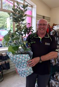 Winner of weekly draw