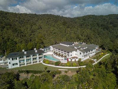 Aerial Image Waitakere Resort & Spa