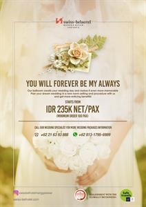 Wedding Package Swiss-Belhotel Mangga Besar Jakarta