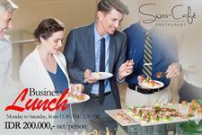 Business Lunch Swiss-Belhotel Mangga Besar Jakarta