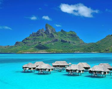 a - Four Seasons Resort Bora Bora - Mt Otemanu