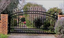 Sliding driveway gate 399 Iron Design